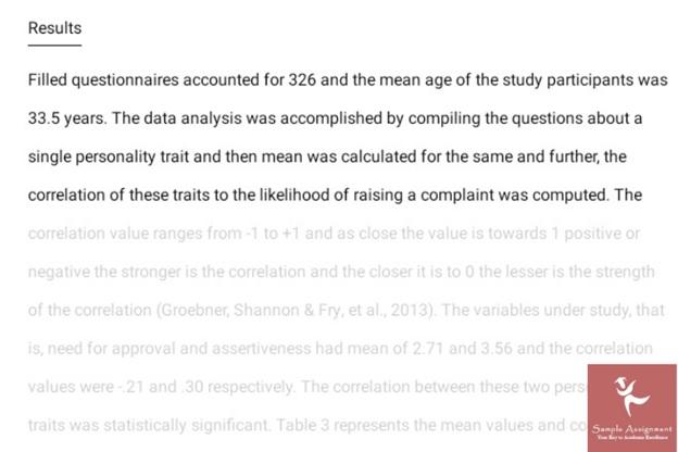 psychology dissertation sample Canada