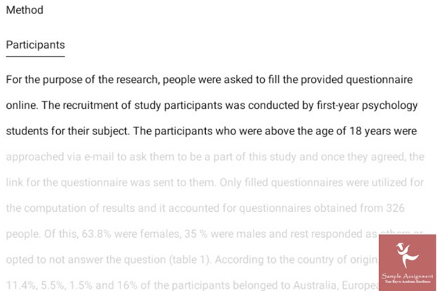 psychology dissertation sample online Canada