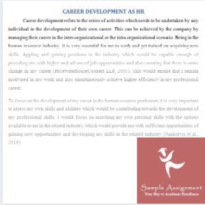 recruitment process assignment solution