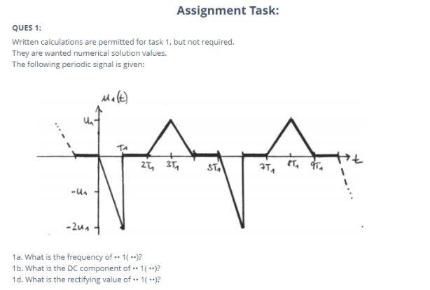 sample assignment task of high school physics homework