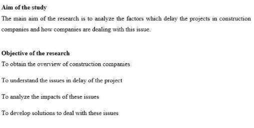 sample dissertation question
