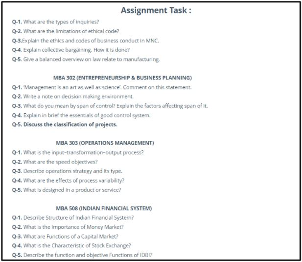 sample management assignment task help in morden