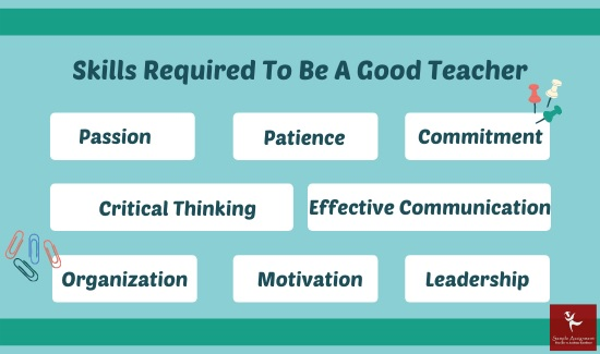 skills required to be a good teacher