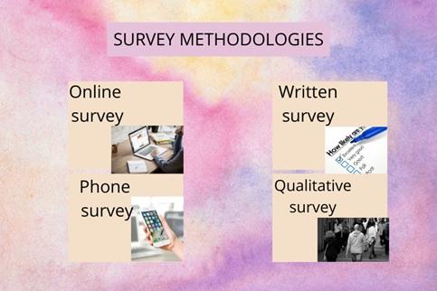 survey methodologies Canada