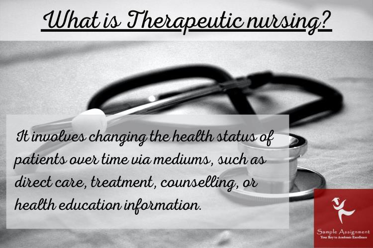 therapeutic nursing assignment help