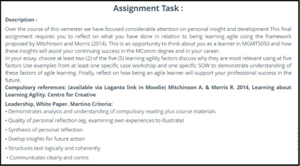 thesis assignment task 2 uk