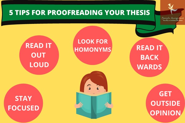 tips for proofreading thesis