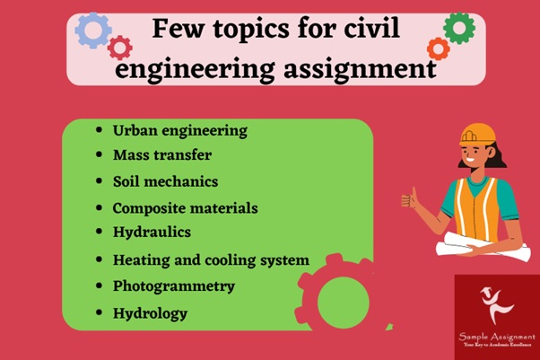 topics for civil engineering assignment