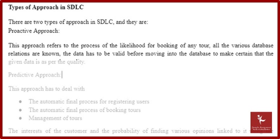 types of approach in sdlc