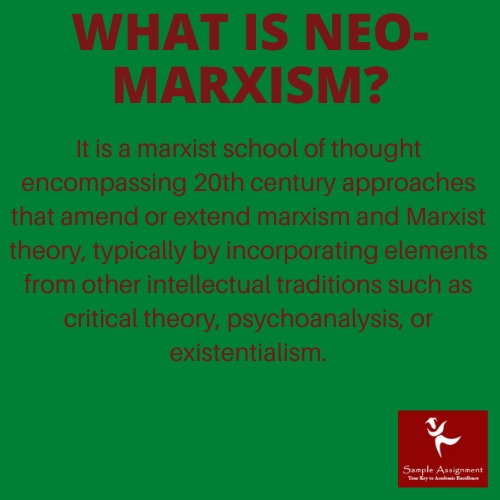 what is neo marxism