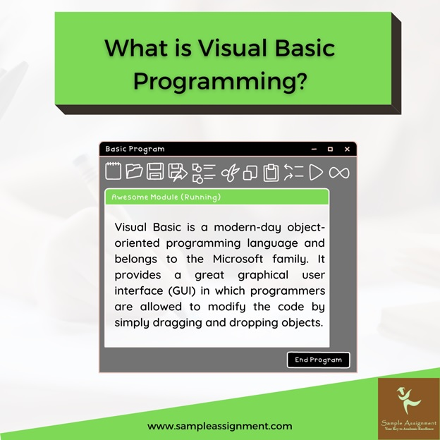 what is visual basic programming