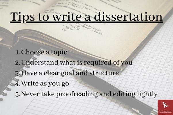 write a dissertation uk