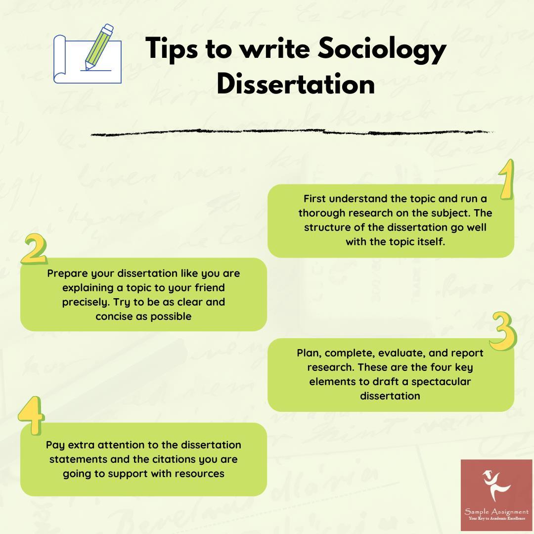 write sociology dissertation