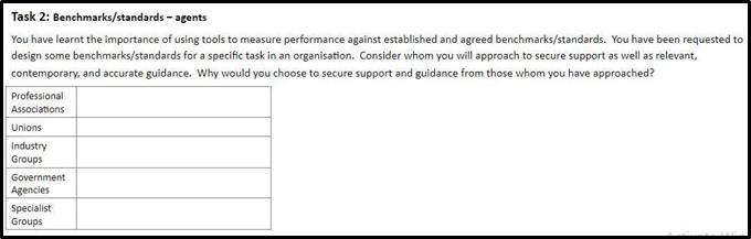 BSBWOR501 workbook assessment task 2 online