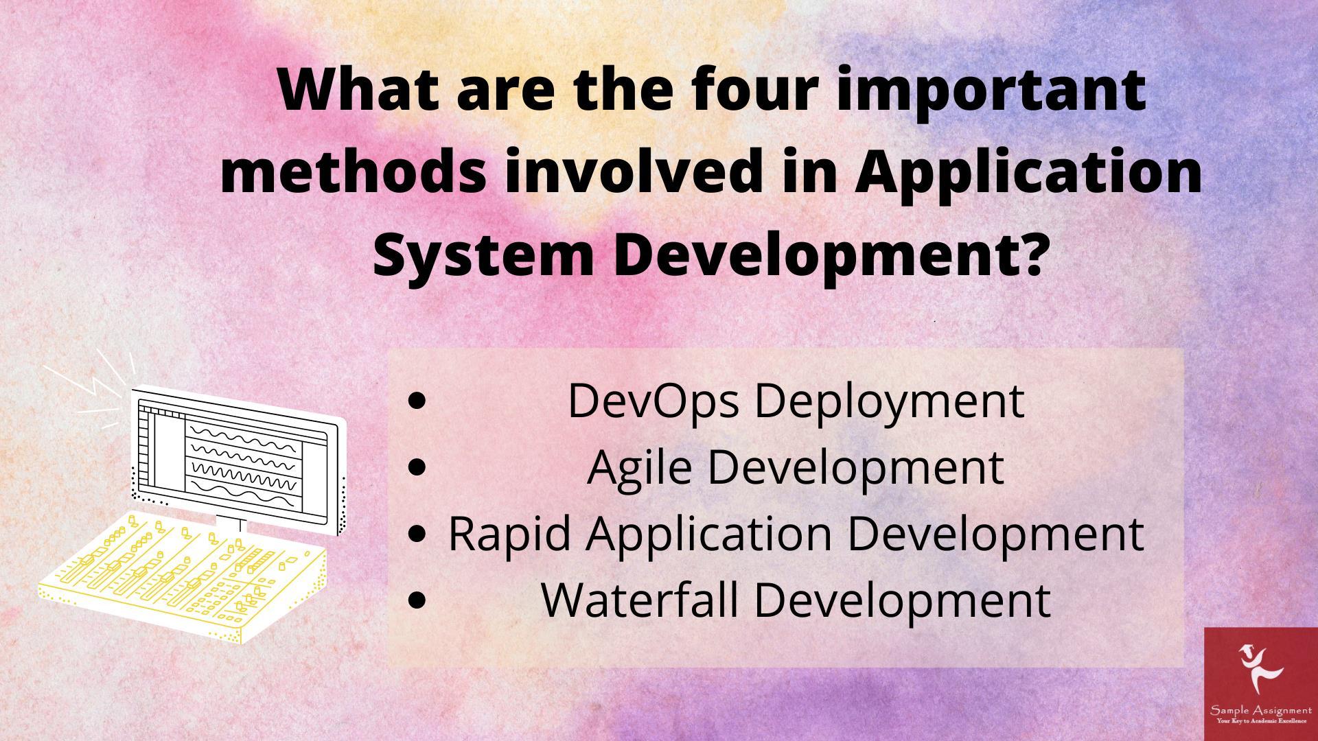 application system development assignment help