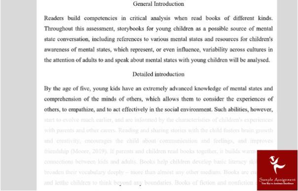 developmental psychology assignment help sample online