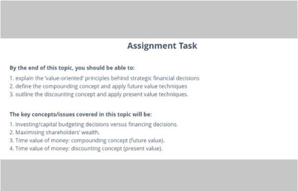 financial planning academic assistance through online tutoring sample