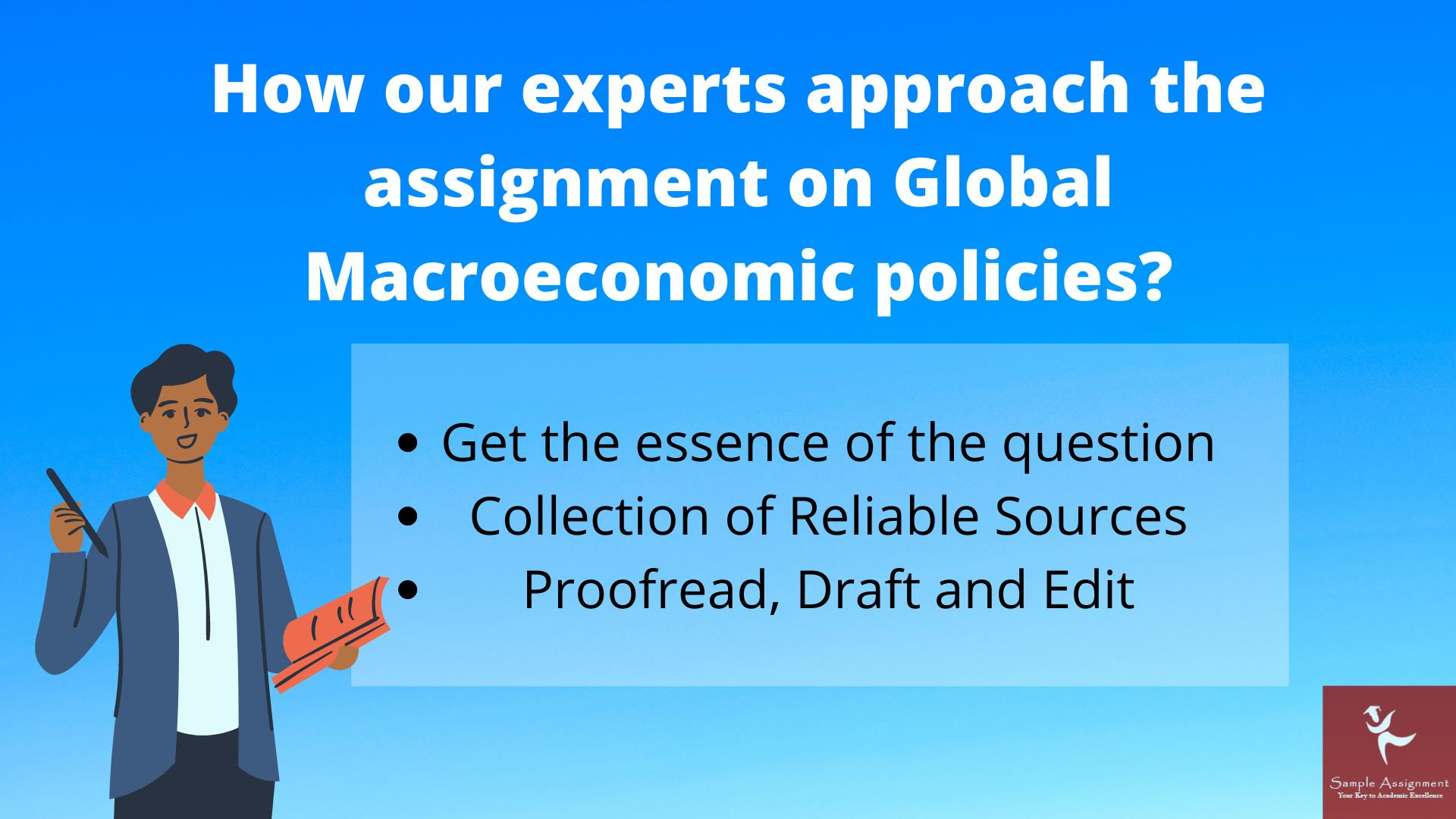 global macroeconomic policies assignment answer