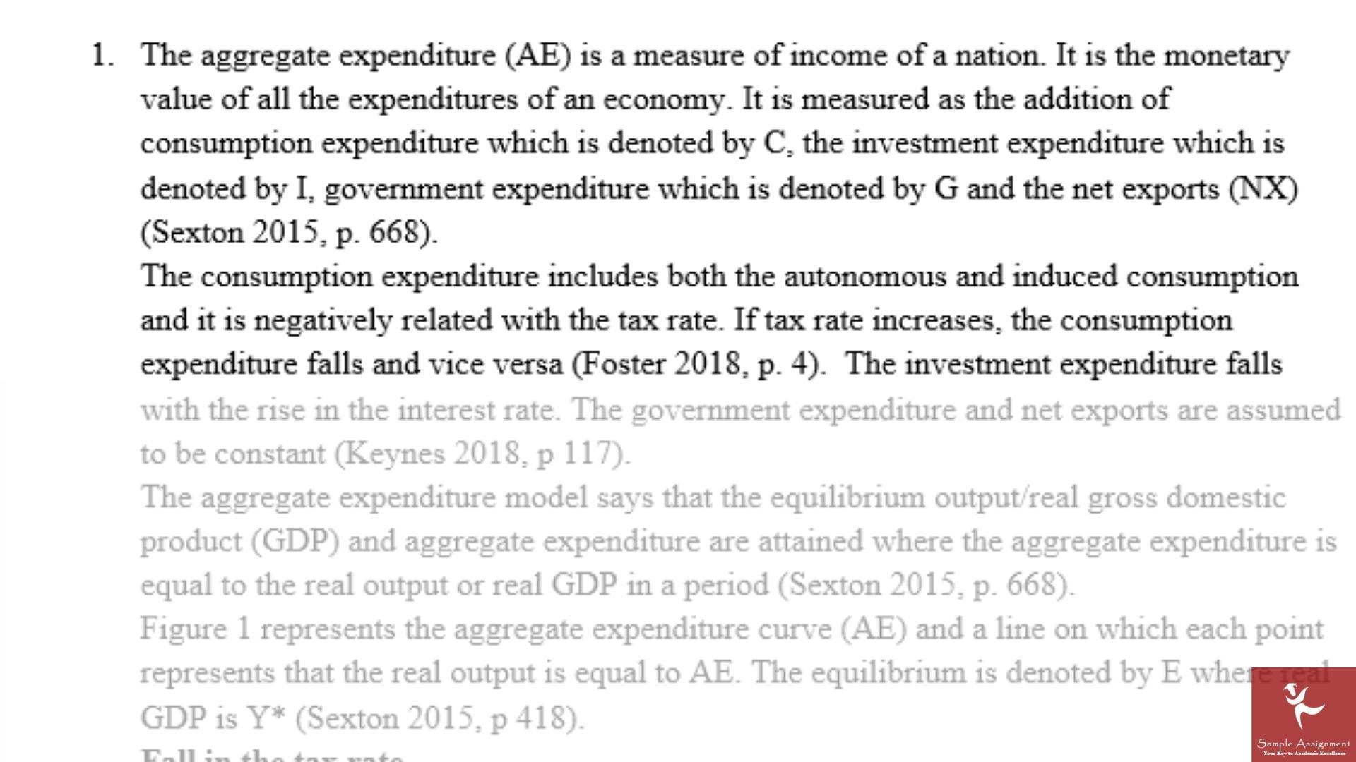 global macroeconomic policies assignment sample