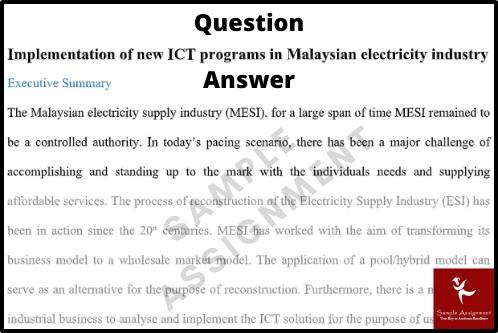 highlands islands university assignment question