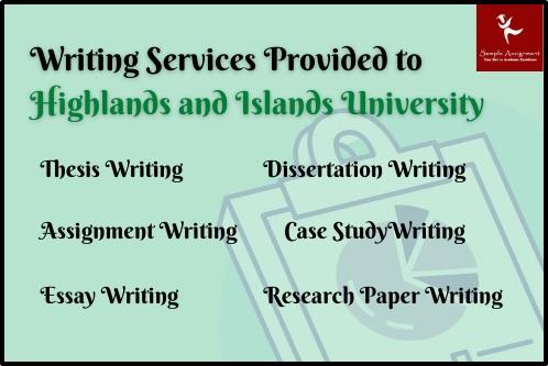 highlands islands university assignment