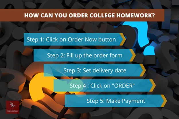 how can you order college homework
