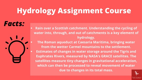 hydrology assignment course