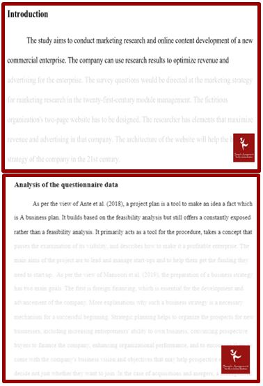 management research assignment sample uk