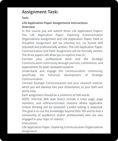 mass communication assignment question uk