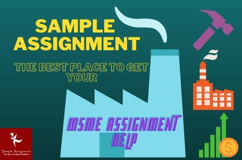 msme assignment help uk