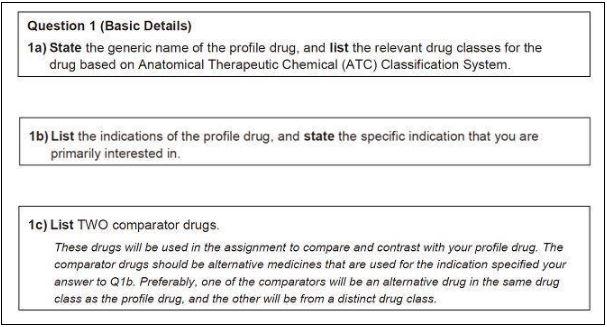 pharmacology homework help sample