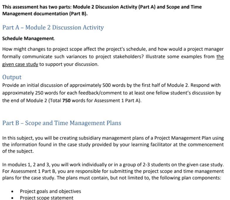 project plan homework sample canada