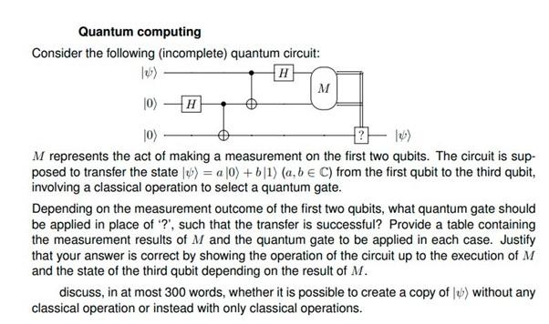 quantum computing sample