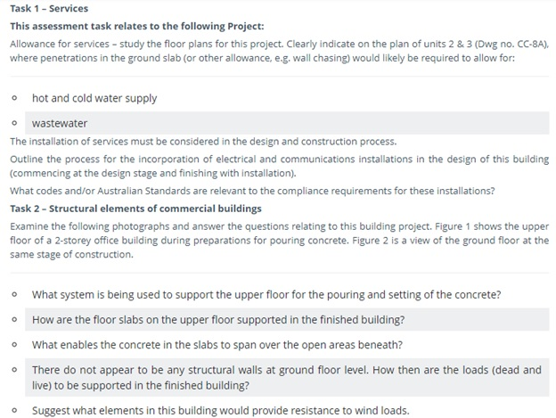 structural engineering assignment question sample canada