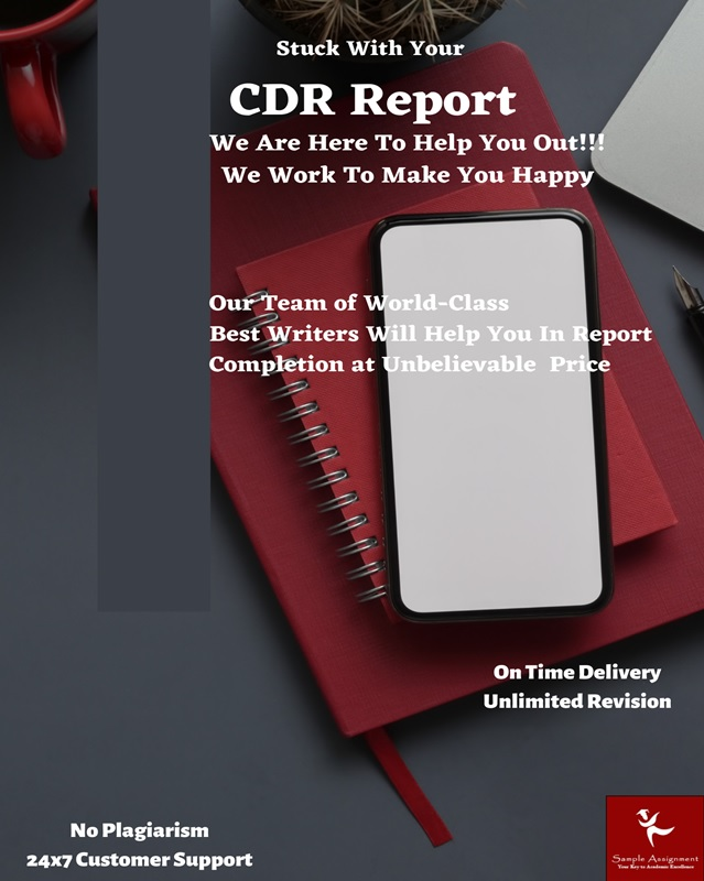 stuck with your cdr report