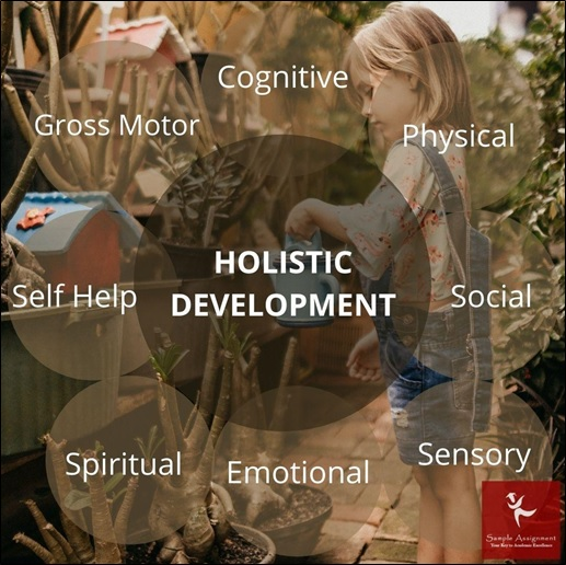 support the holistic development of children in early childhood