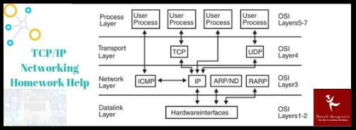 tcpip networking homework help