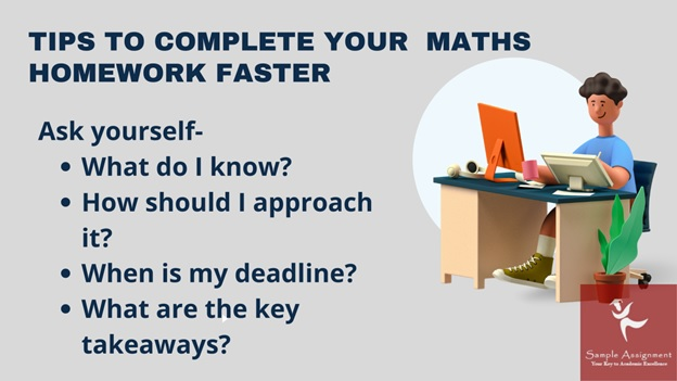 tips to complete your maths homework faster