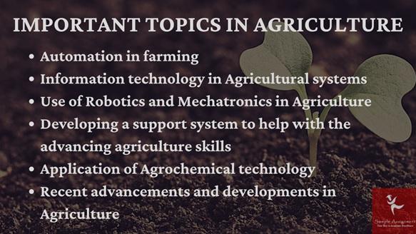 topics of agricultural canada