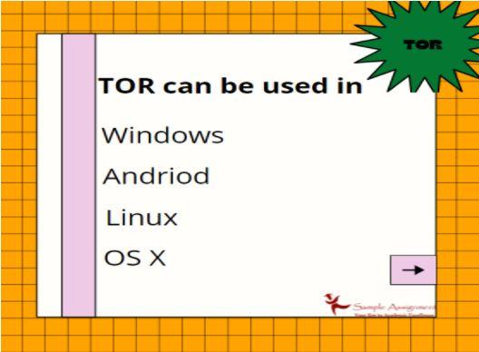 tor network assignment help