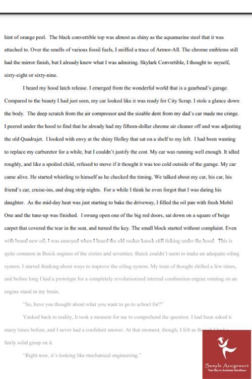 1000 words essay example
