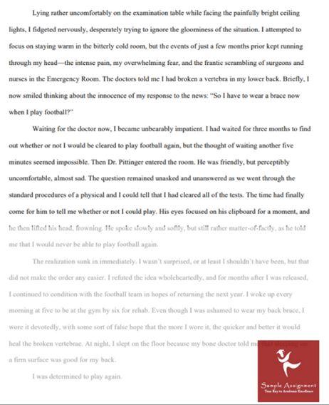 1000 words essay sample