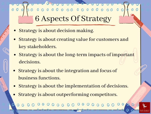 6 aspects of strategy