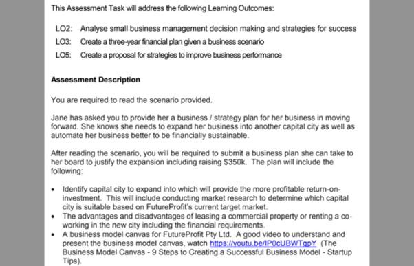 PhD in business administration dissertation assessment task