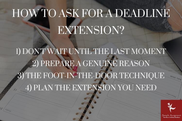 assignment deadline extension