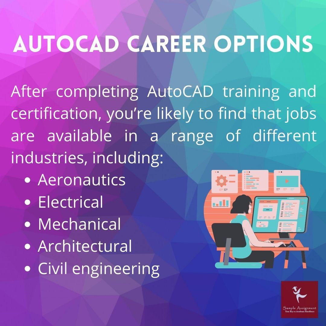 autocad career option