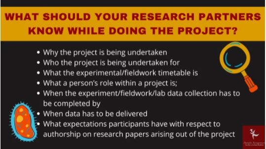 biology research project help online