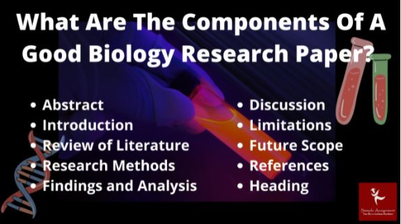 biology research project help