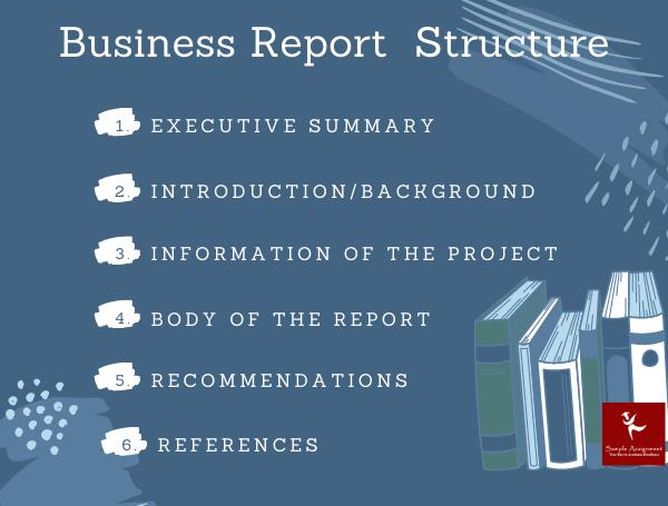 business report structure canada