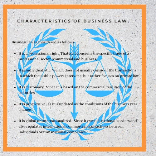 characteristics of business law